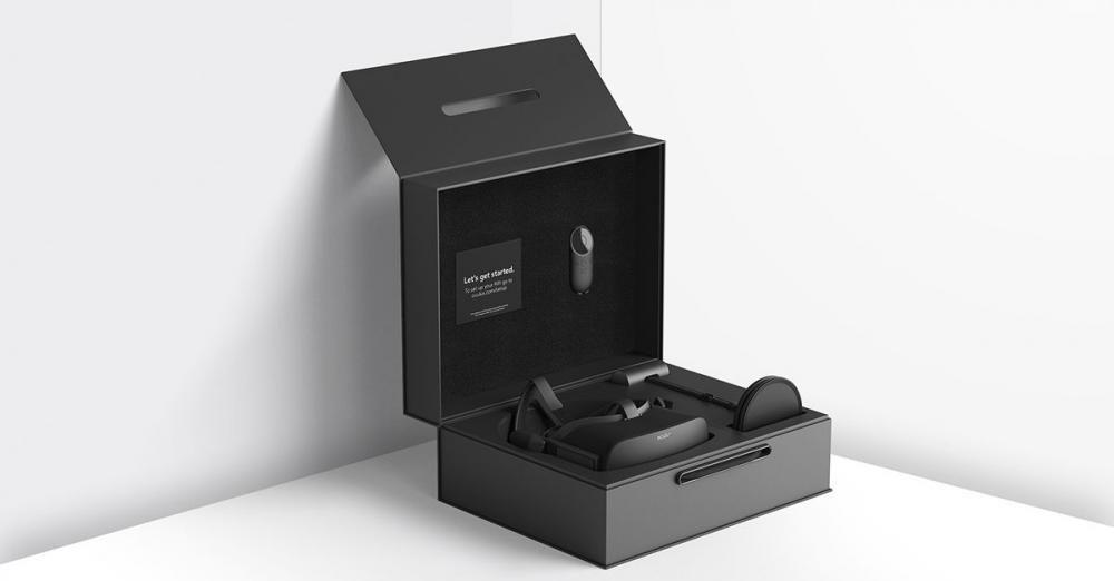 Oculus Rift Unpackaging