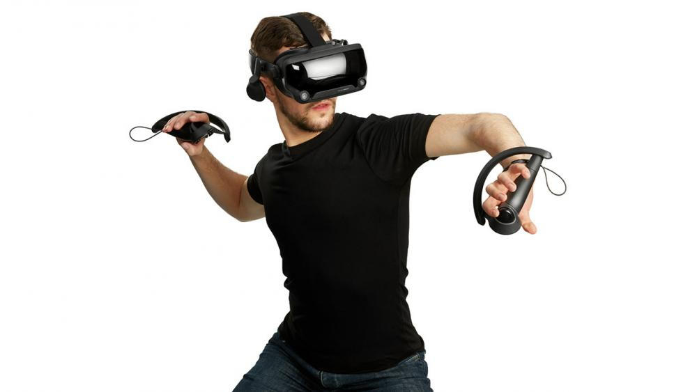 Playing with Valve Index VR Headset