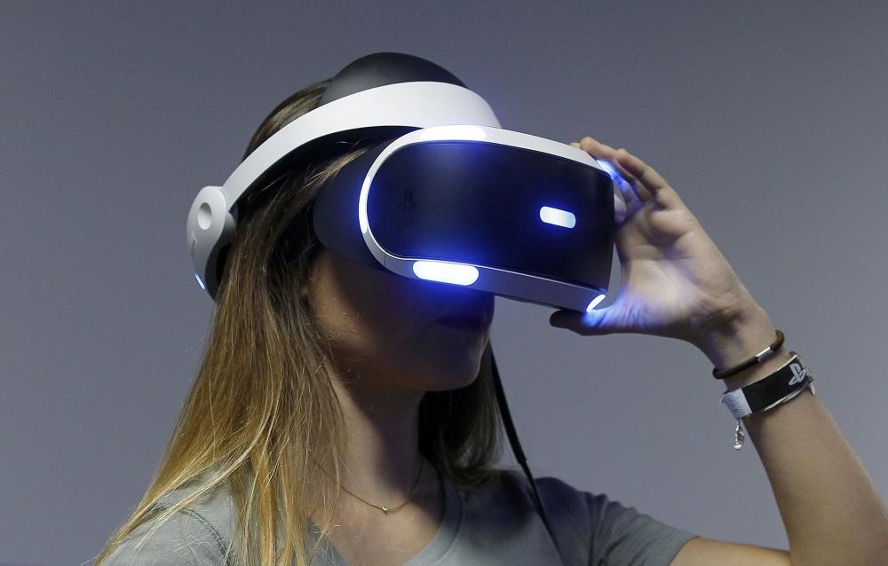Playing with Playstation VR Headset