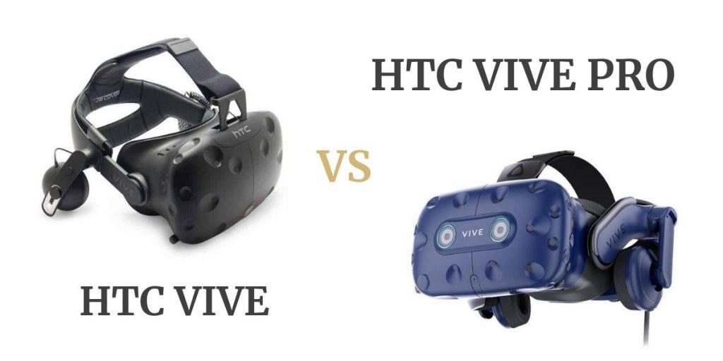 HTC Vive vs HTC Vive Pro