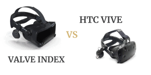 Vavlve Index vs HTC Vive