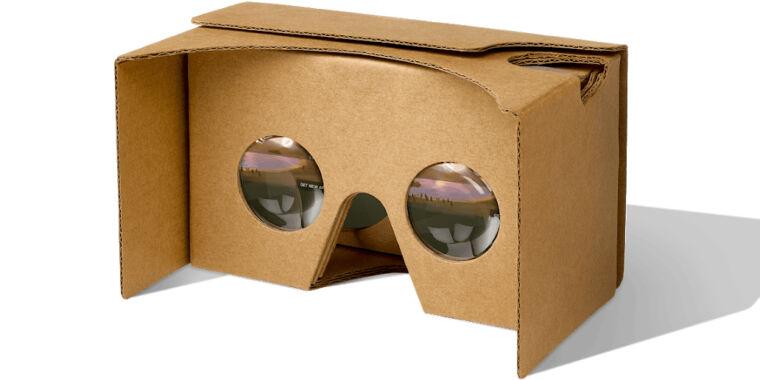 Google Cardboard Inner look